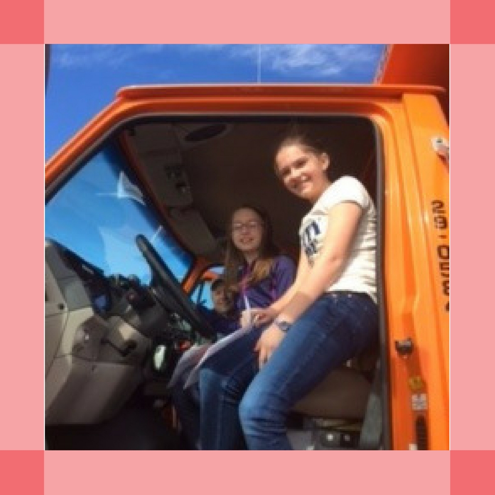 Girls in Truck