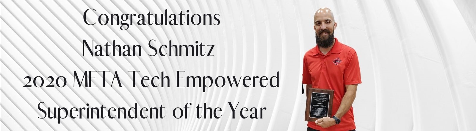 2020 META Tech Empowered Superintendent of the Year