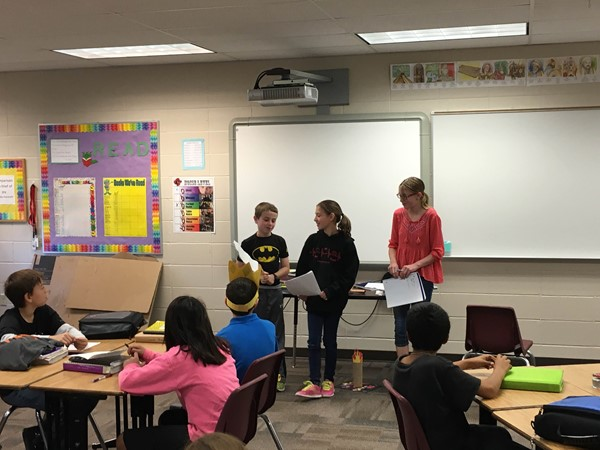 History comes to life with skits!